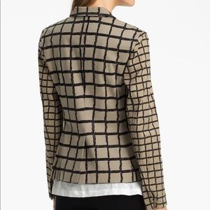 rag & bone Jackets & Coats - Rag & Bone 'Bailey' Tan Windowpane Jacket SZ. 8